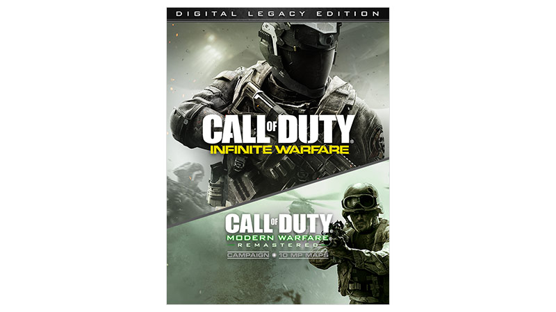 Call of Duty Infinite Warfare Ultimate Edition 包裝圖