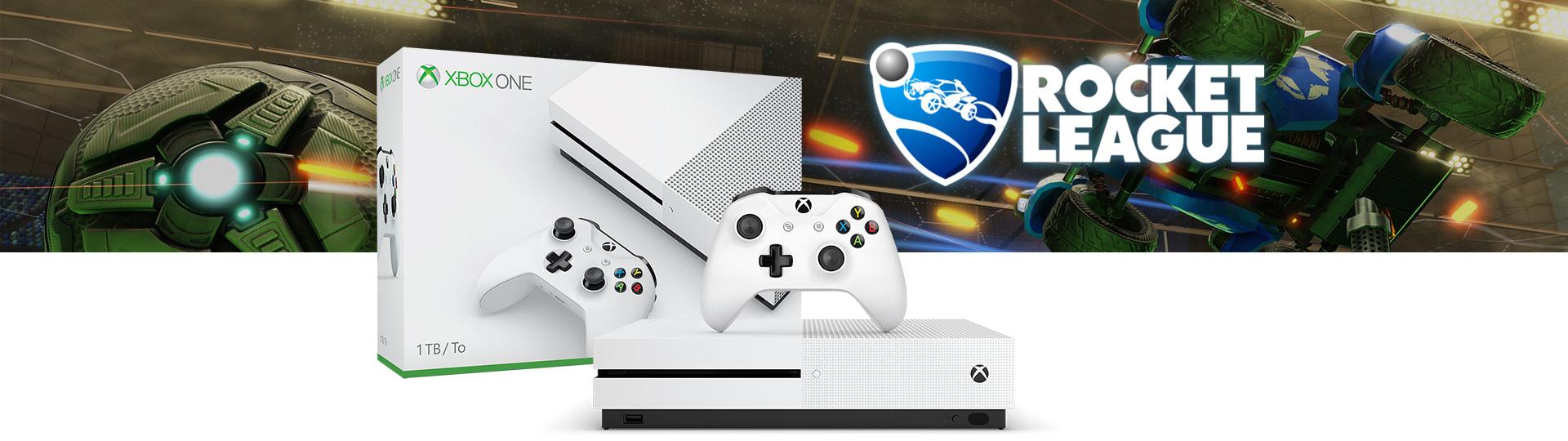 Xbox One S Rocket League Blast-Off Bundle 1TB