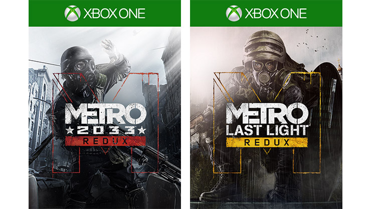 Metro 2033 Redux and Metro: Last Light Redux box art