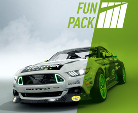 Fun Pack, Ford Mustang Nitto aux couleurs de Monster energy