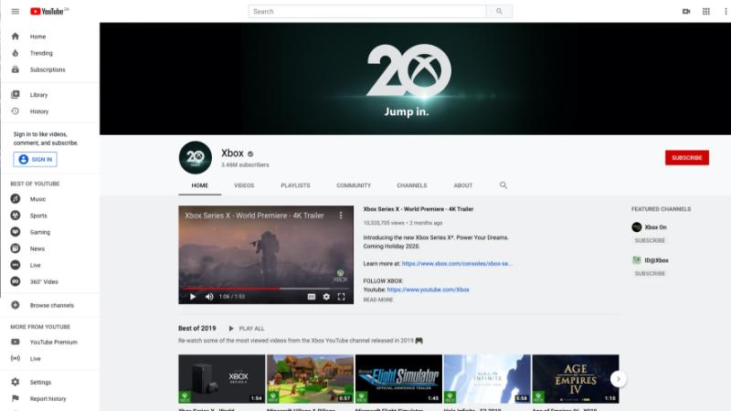 Başlangıç Günü kapak fotoğrafı ve profil resmi olan bir YouTube profili