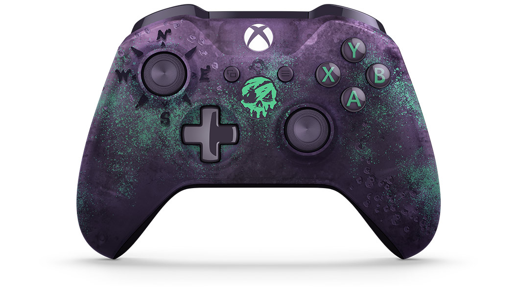 Vista frontale del Controller Sea of Thieves