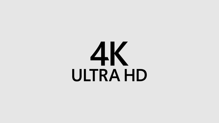 Logótipo do 4K Ultra high definition