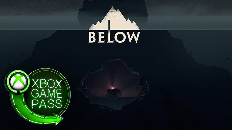 Below game graphics with the Xbox Game Pass logo