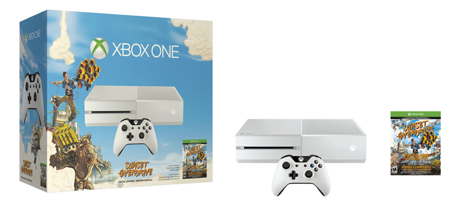 Microsoft XBOX One 500GB Console Sunset Overdrive Special Edition Bundle White 885370831092 | eBay