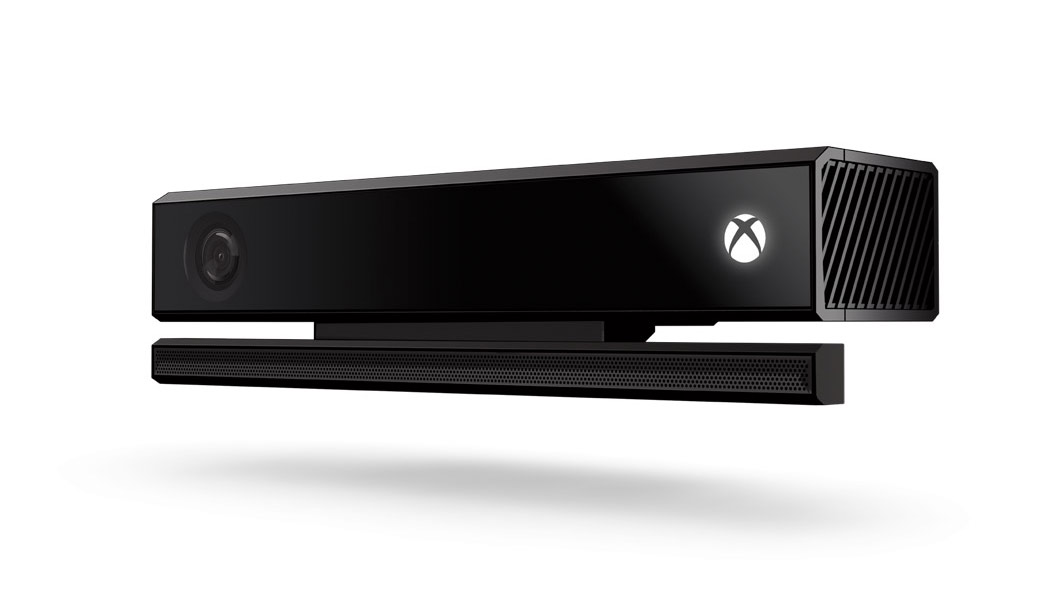 Left view of Xbox Kinect