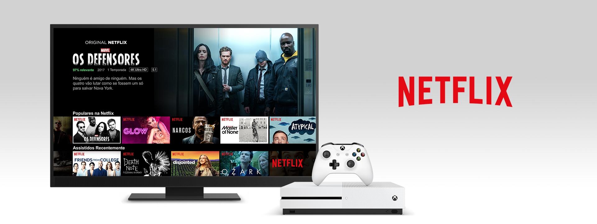 Netflix em um Xbox One