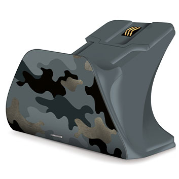 Detail view of Night Ops Camo Special Edition Xbox Pro Charging Stand