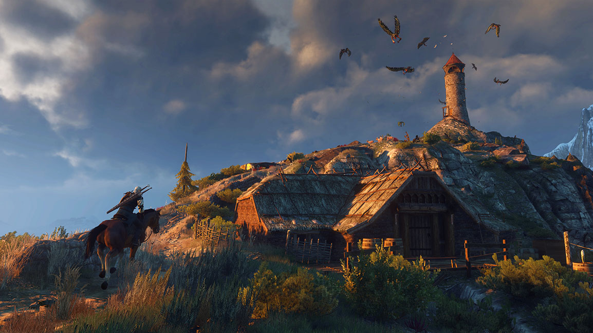 The Witcher 3: Wild Hunt – Leuchtturm