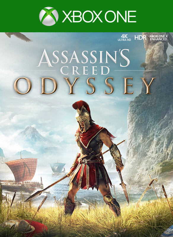 Imagem da caixa do Assassins Creed Odyssey