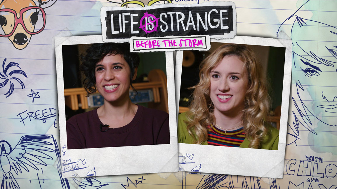 Life is Strange: Before the Storm, Polaroid photos of Hannah Telle and Ashly Burch