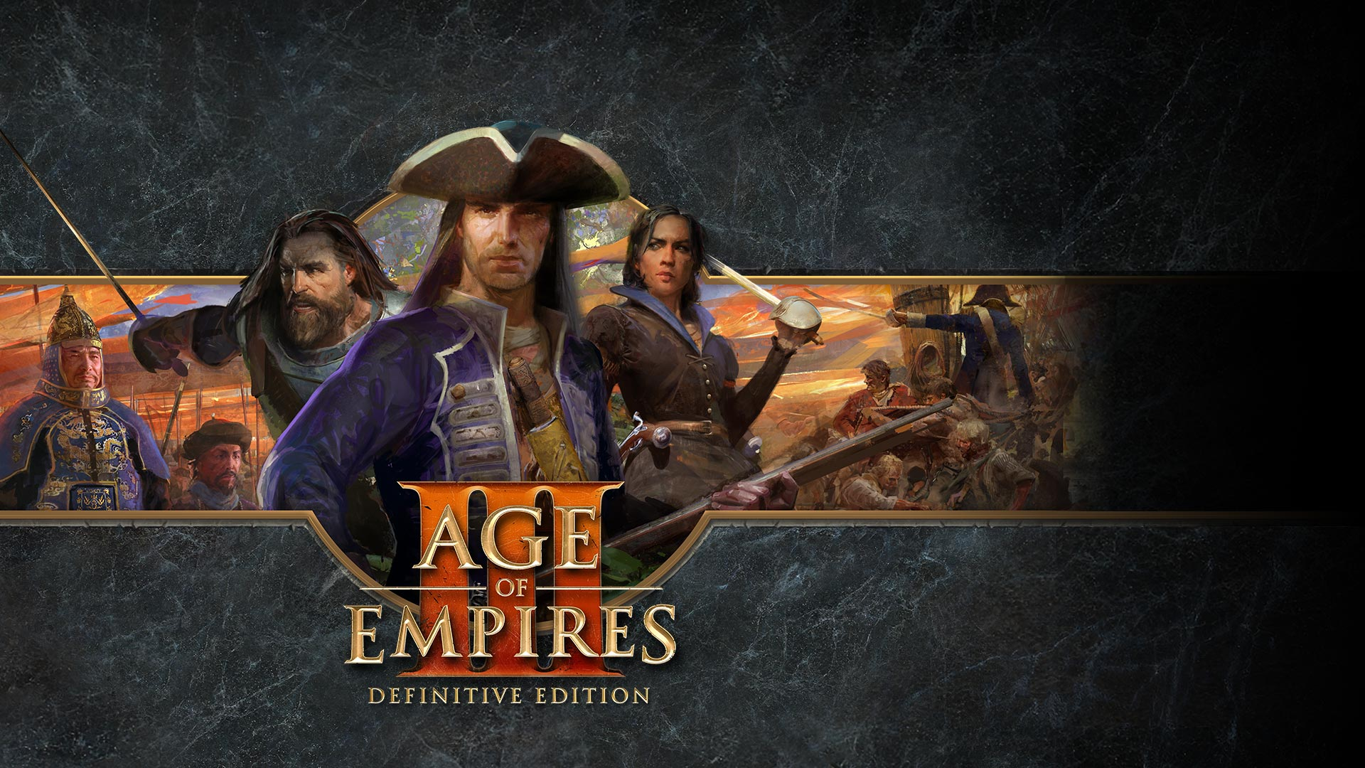 Age of Empires III: Definitive Edition、ポーズを取るキャラクター