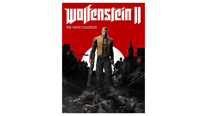 Image de la boîte de Wolfenstein II : The New Colossus édition Standard