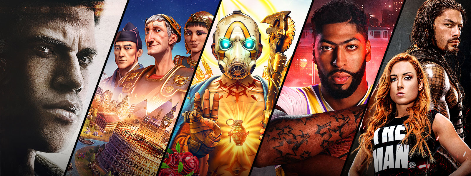 2K games on sale include Sid Meier's Civilization, Borderlands 3, and NBA 2K20.