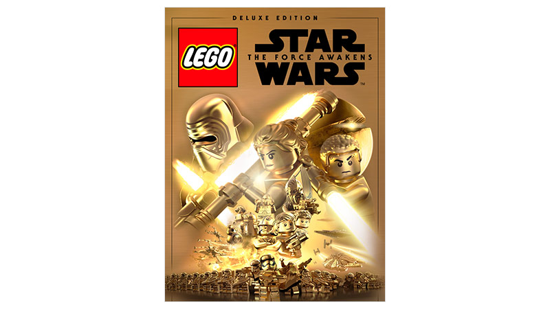 Lego Star Wars the Force Awakens Deluxe Edition-coverbillede