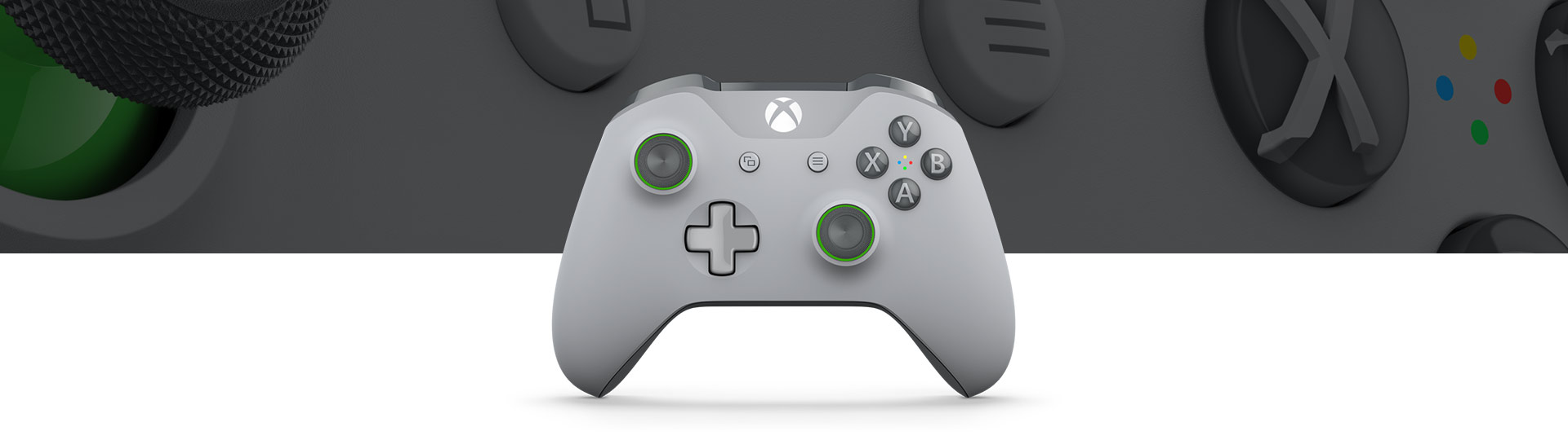 Xbox Wireless Controller – Grau/Grün