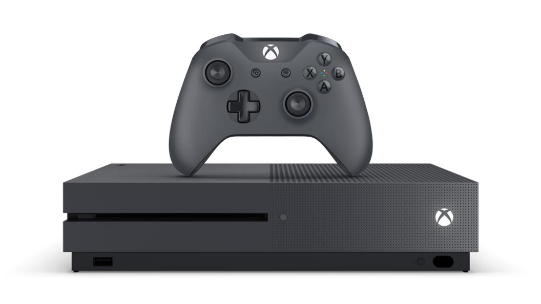 Grey Xbox One S