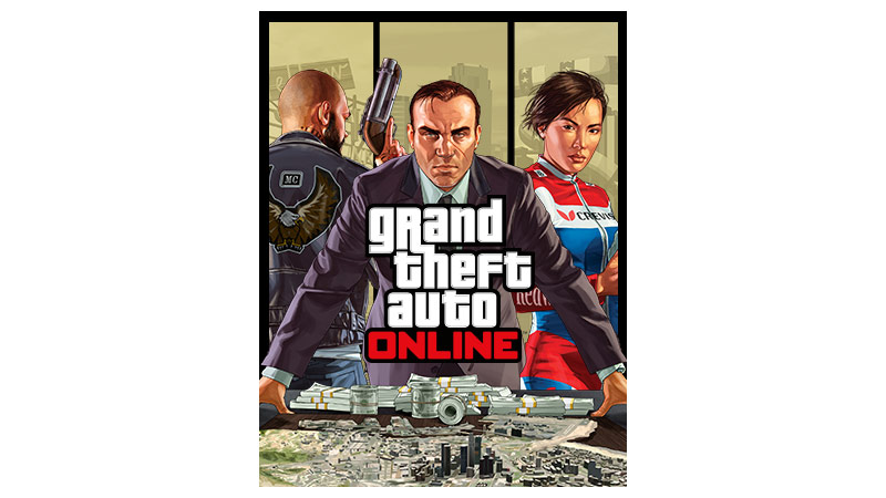 Grand Theft Auto Five Criminal Enterprise-coverbilde