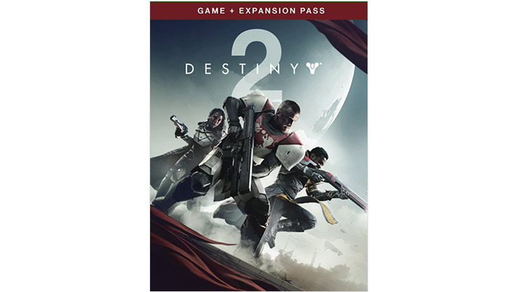 Destiny 2 game plus expansion box shot
