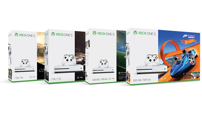 Promoção exclusiva! Packs Xbox One S 500 GB por apenas 199€