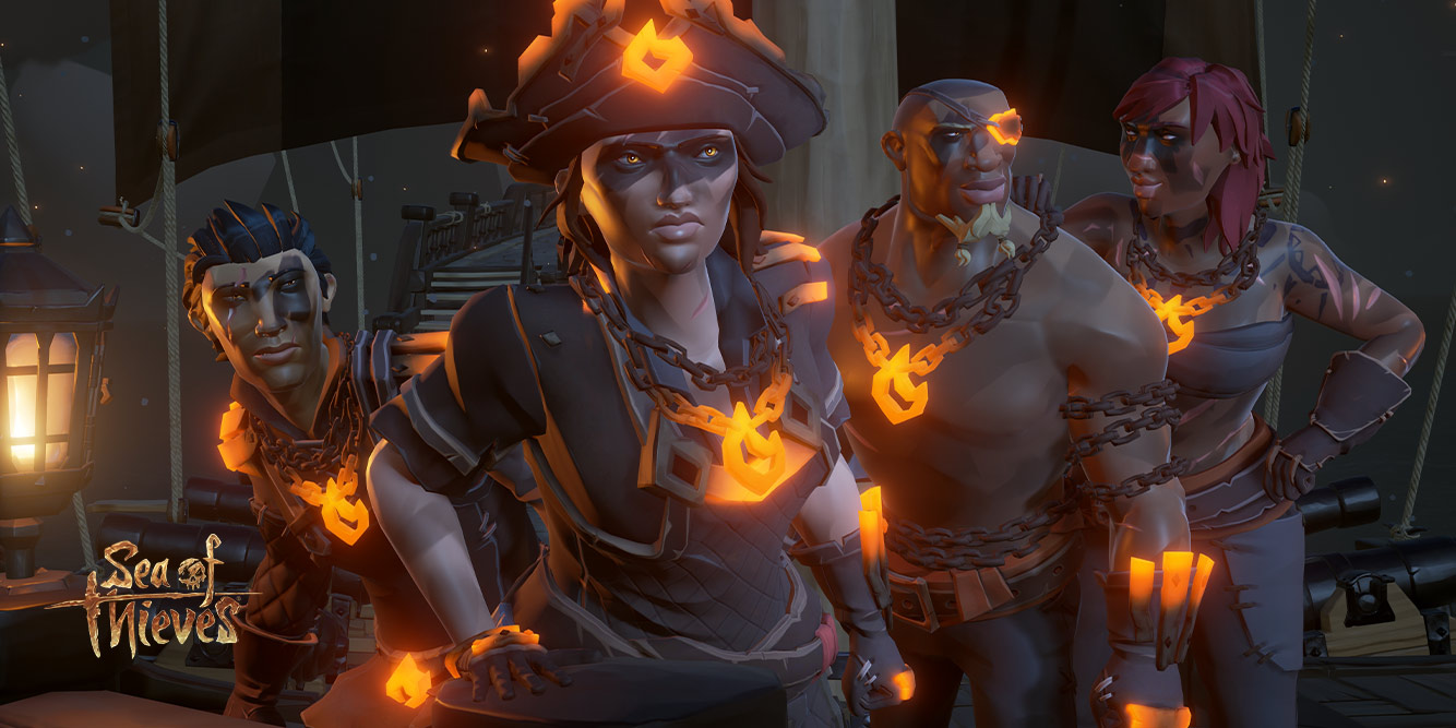 Scène uit Sea of Thieves