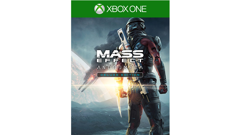 Mass Effect Andromeda Deluxe Edition-coverbillede