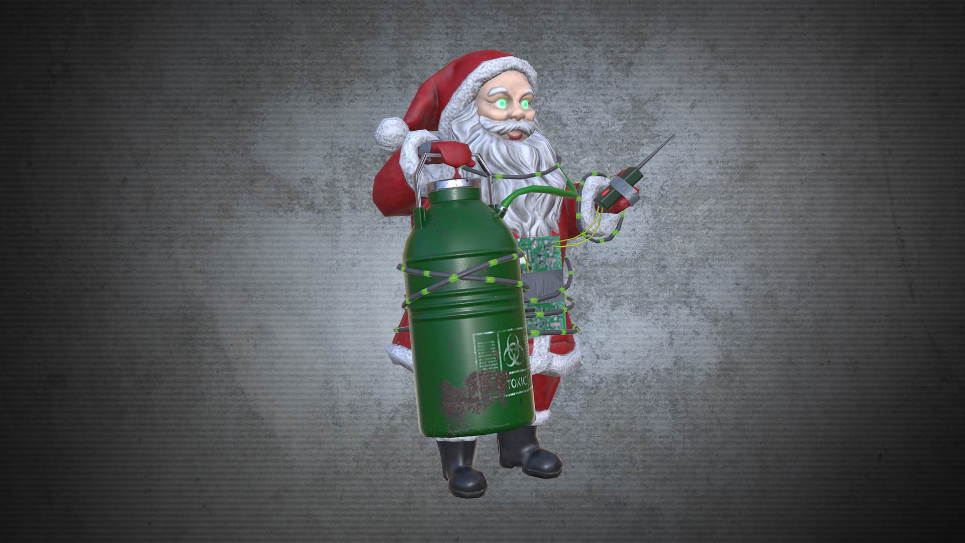 DEAD RISING 4 ACID SANTA WEAPON