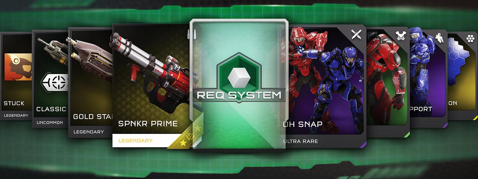 Tarjetas en el juego del Sistema REQ