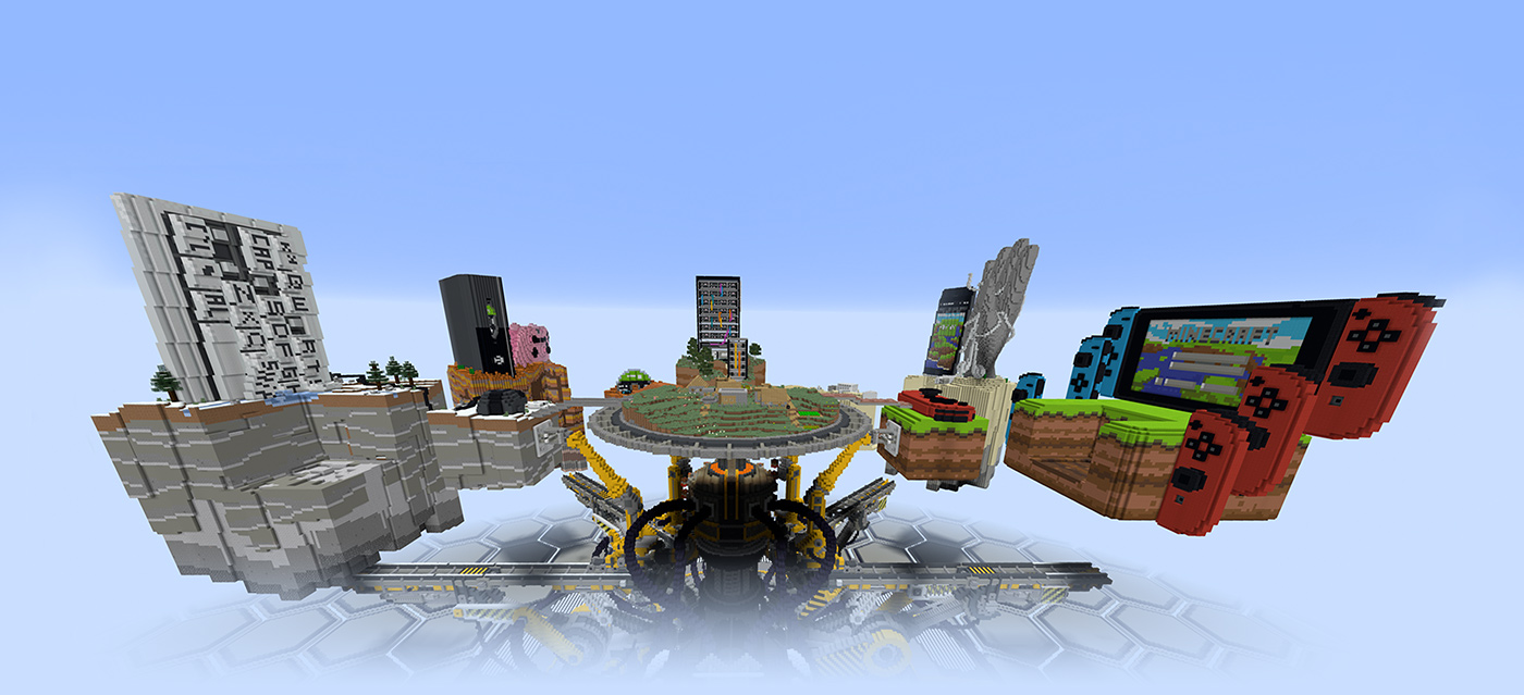 Minecraft Xbox - Skins para minecraft pc demo