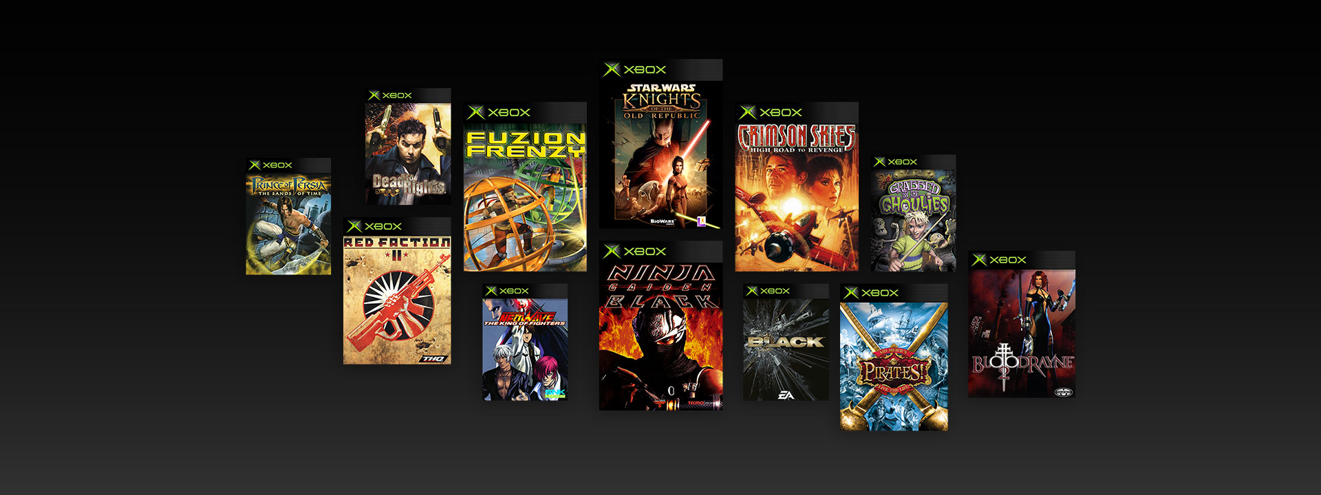 Collage of Original Xbox Games