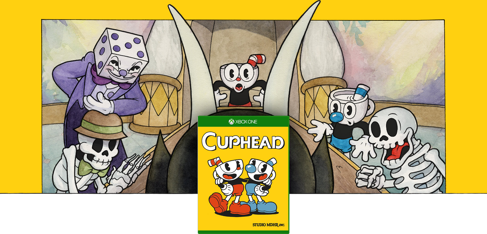 Cuphead-coverbillede