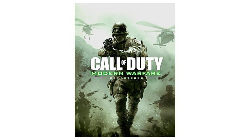 Call of Duty modern Warfare remastered box shot