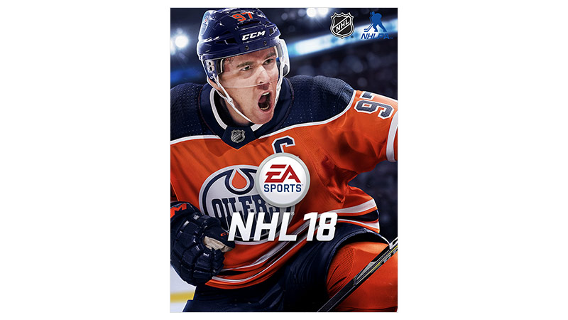 NHL 18 Standard Edition-coverbillede