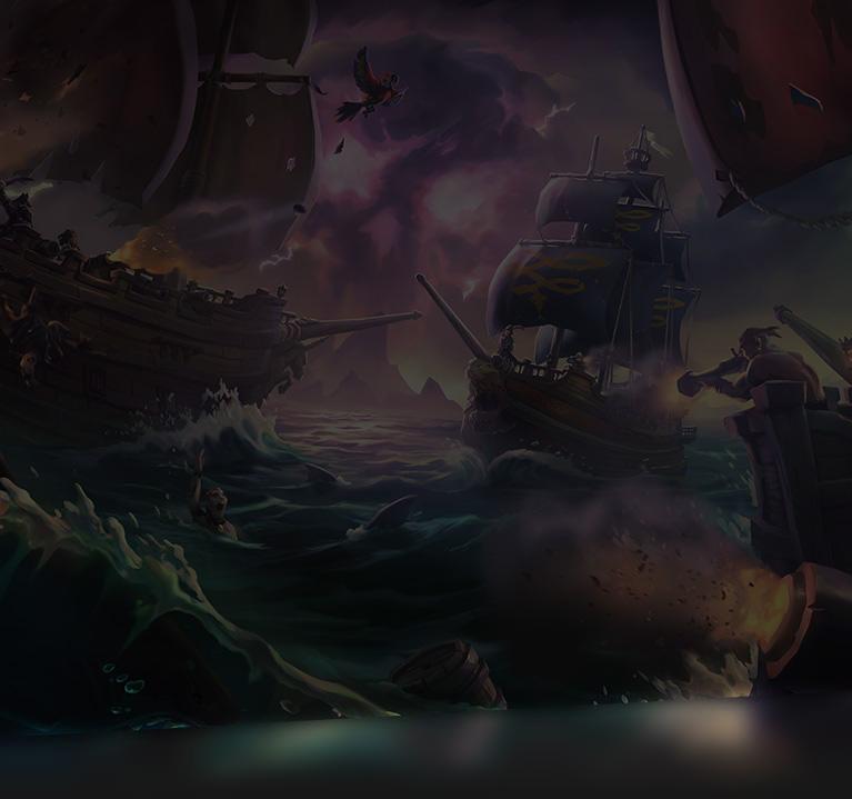 Βίντεο επίδειξης του Sea of Thieves σε 4K.