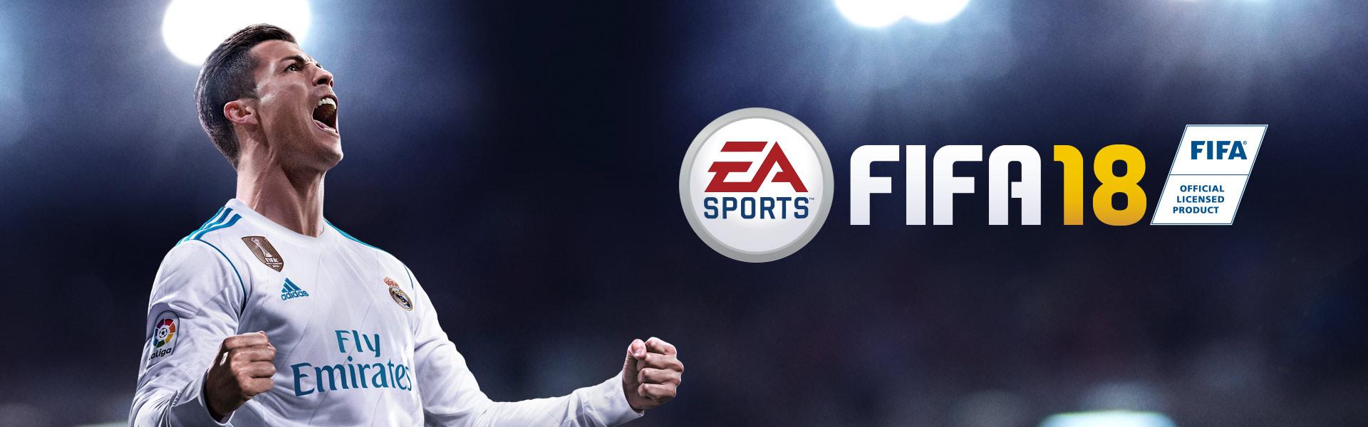Produit sous licence officielle EA Sports FIFA18, Cristiano Ronaldo heureux