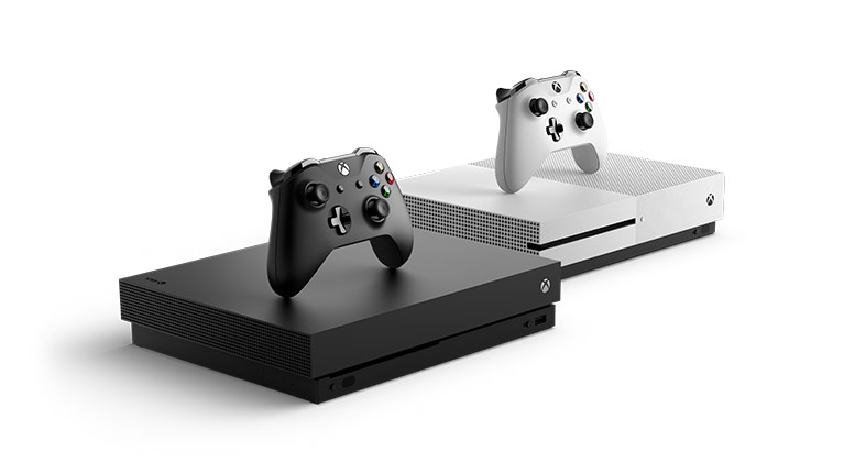 Xbox One X and Xbox One S