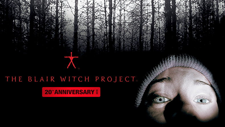 The Blair Witch Project 20th Anniversary film poster
