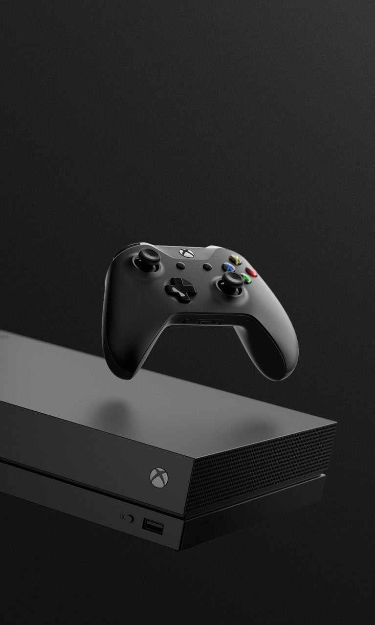 Xbox One X hero image