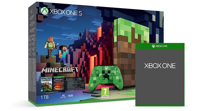 Limitovaná edice balíčku konzole Xbox One S + hra zdarma