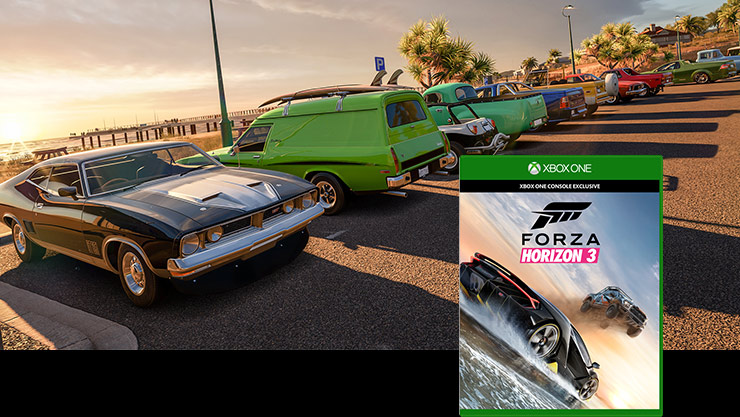 Forza Horizon 3 box shot
