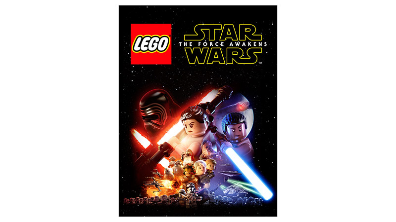 Lego Star Wars: The Force Awakens Standard Edition-coverbillede