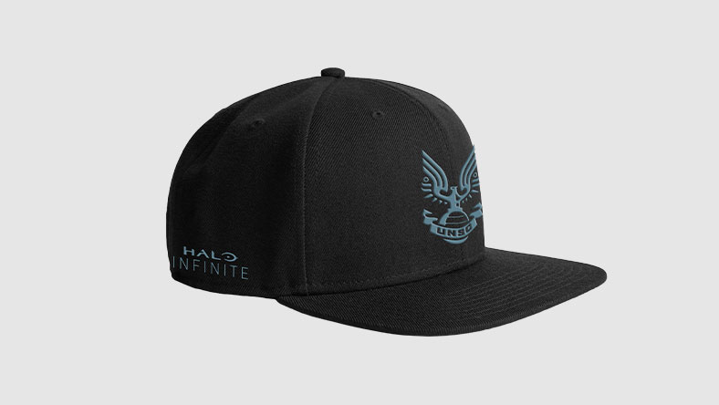 Halo Infinite UNSC Snapback Hat