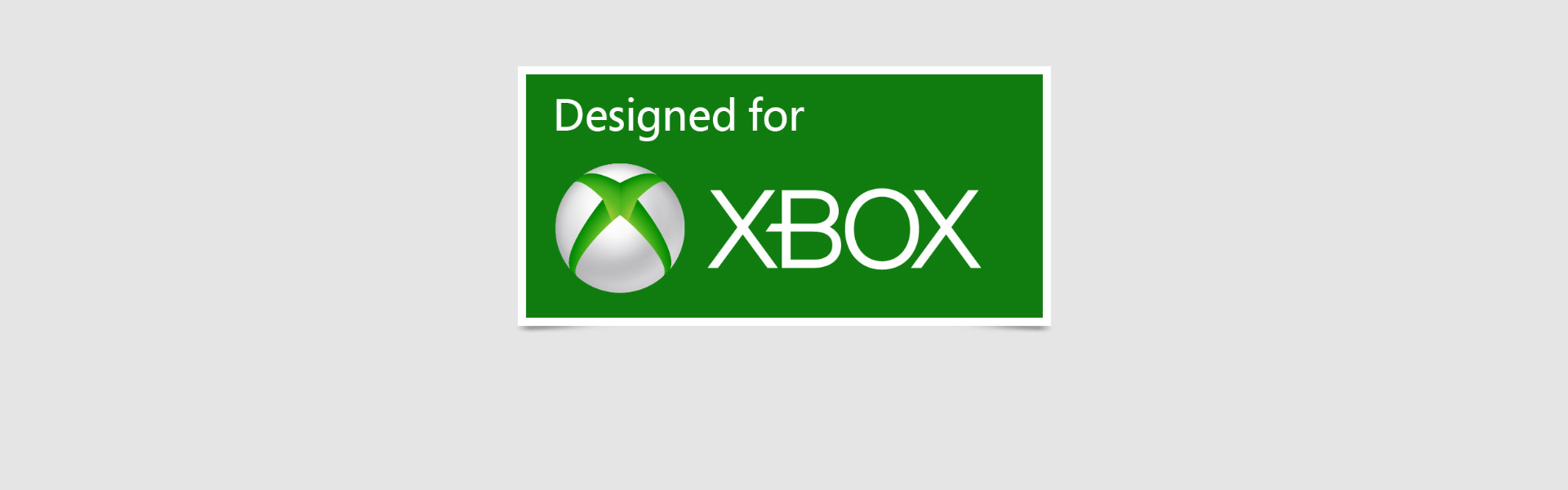 Deisgned for Xbox logo