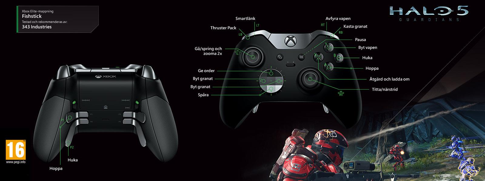 Halo 5 – Elite-mappning för Fishstick