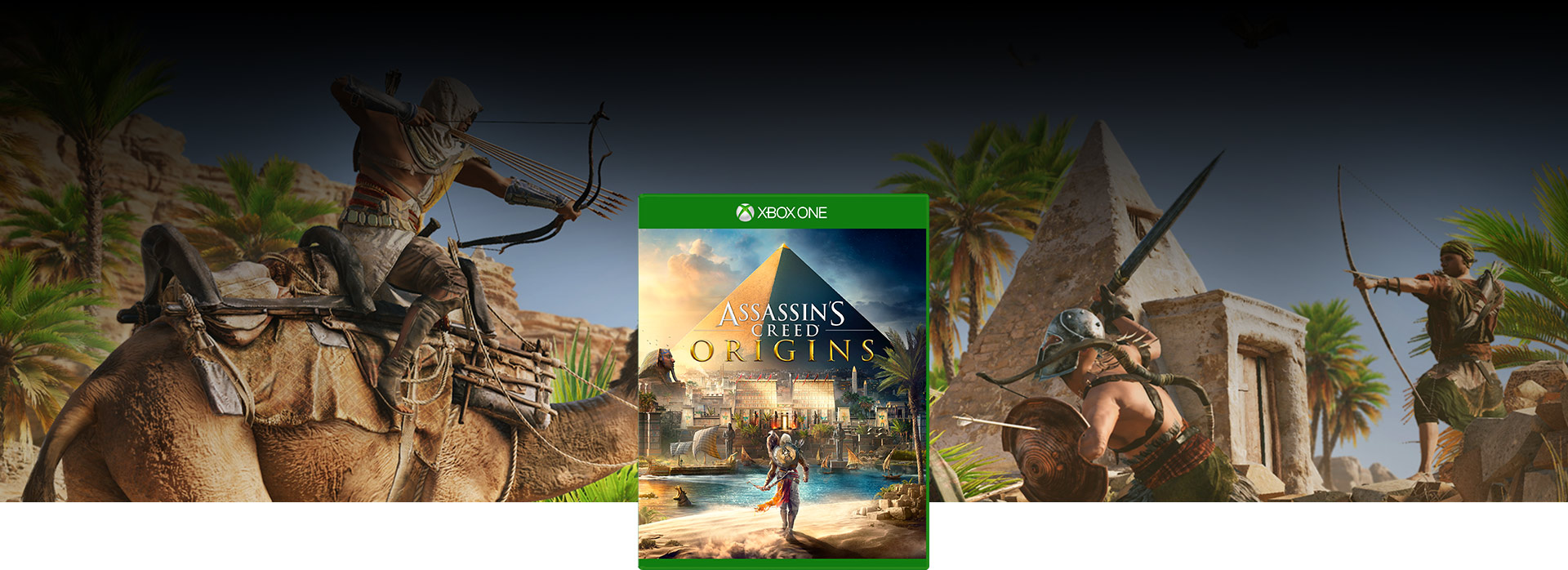 Assassin's Creed® Origins -pakkauksen kansi