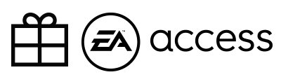 EA Access logo with Gift graphic