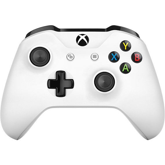 Detail view of Xbox Wireless Controller
