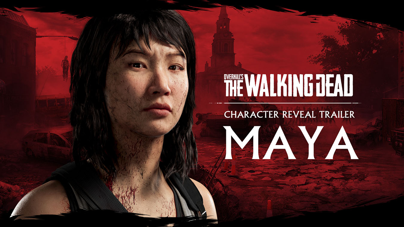 OVERKILL's The Walking Dead Character Reveal Trailer Maya, Front view of Maya's face