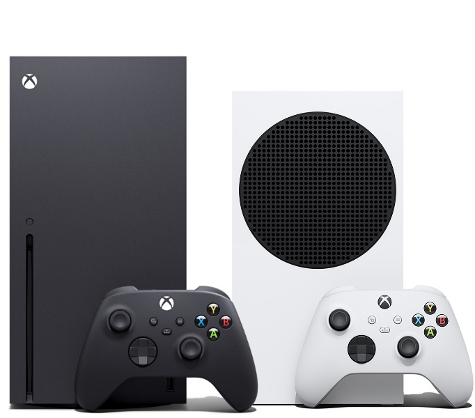xbox series x and xbox series s side by side