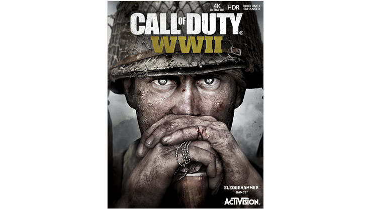 Call of Duty WWII Standard Edition -pakkauksen kansi